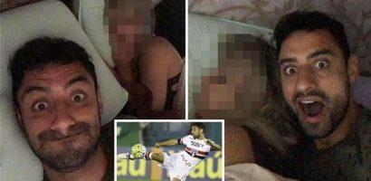 Bức ảnh tiền vệ Brazil ngủ với vợ hung thủ trước khi bị giết?