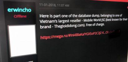 Thế giới Di động mất gần 650 tỷ sau tin đồn lộ thông tin khách hàng