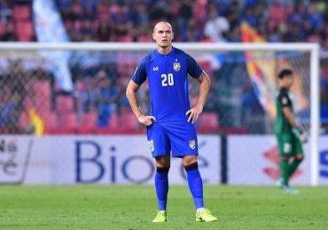 Đội tuyển Thái Lan mất trung vệ từng chơi bóng ở Đức hết AFF Cup 2018