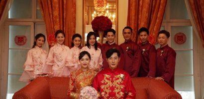 Ảnh hiếm trong hôn lễ cổ tích của Đường Yên – La Tấn