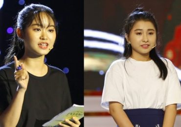 Én vàng học đường 2018: Nữ sinh gây ấn tượng vì niềm tự hào mang tên 'Bánh mì' và xôi 'made in Việt Nam'