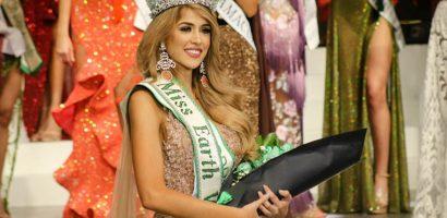 Nhan sắc người đẹp Venezuela ngất xỉu ở chung kết Hoa hậu Trái đất