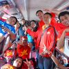 Người hâm mộ sang Lào cổ vũ ĐT Việt Nam ở trận ra quân AFF Cup 2018