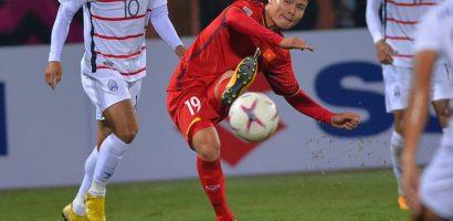 Quang Hải được vinh danh sau màn trình diễn xuất sắc trước Campuchia