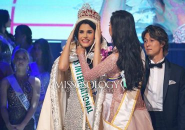 Người đẹp Venezuela 20 tuổi đăng quang Hoa hậu Quốc tế 2018