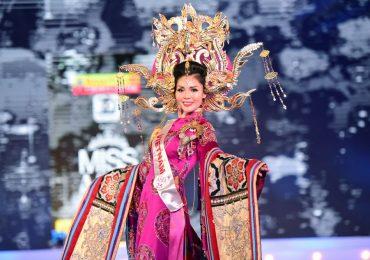 Kim Nguyên được vinh danh danh hiệu: Hoa hậu Châu Á Việt Nam 2018