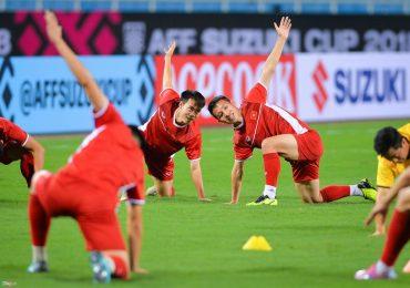 AFF Cup 2018: Đội tuyển Việt Nam làm quen sân Mỹ Đình trước khi gặp Malaysia