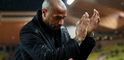 Thierry Henry lún sâu trong khủng hoảng cùng Monaco