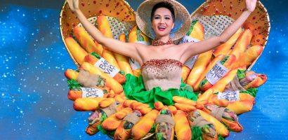 Hoa hậu H'Hen Niê mang 'Bánh mì Việt Nam' đến Miss Universe 2018