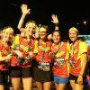 Hàng nghìn người hào hứng tham gia sự kiện chạy bộ quốc tế 'Justice League Night Run 2018'