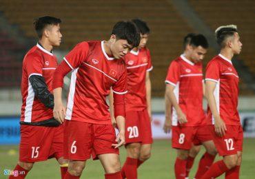 Quế Ngọc Hải tích cực giảm cân trước trận ra quân tại AFF Cup 2018