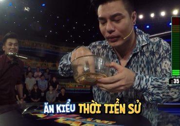 'Im lặng là vàng': Lê Dương Bảo Lâm lầy lội dùng miệng mở lon nước ngọt