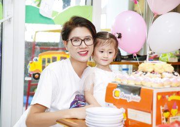 Trang Trần tổ chức sinh nhật cho con gái xinh xắn tại lớp mầm non