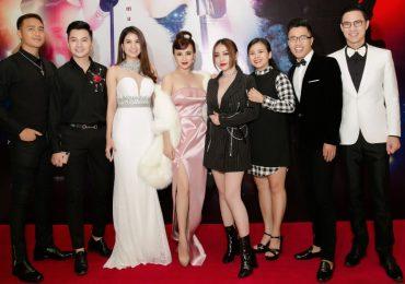 Sao Việt chúc mừng Vy Oanh ra mắt MV như phim điện ảnh hành động