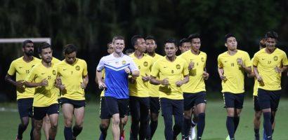 AFF Cup 2018: Tuyển Malaysia tập buổi đầu ở Việt Nam