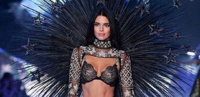 Kendall Jenner gợi cảm trên sàn diễn Victoria's Secret Show 2018