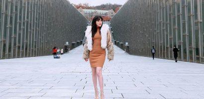 Khó nhận ra Bảo Thy với kiểu tóc mái ngố chuẩn style Hàn Quốc