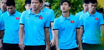 AFF Cup 2018: Tuyển Việt Nam tập thể dục tại khách sạn ở Bacolod
