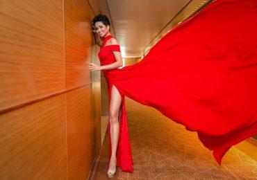 Hoa hậu H'Hen Niê đẹp lộng lẫy khi diện đầm dạ hội