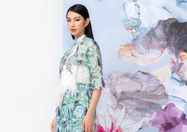 Á hậu Thùy Tiên gây dấu ấn high-fashion trong bộ hình thời trang mới