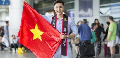 Dàn trai đẹp tiễn Mai Tuấn Anh lên đường dự thi Manhunt 2018