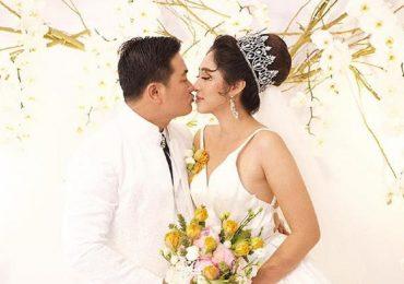Vợ chồng Hoa hậu Đại dương Đặng Thu Thảo liên tục hôn say đắm trong ngày cưới