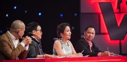 Mỹ Linh tái ngộ Phương Uyên, Đức Trí, Nguyễn Hải Phong trên ghế nóng 'Ban nhạc Việt'