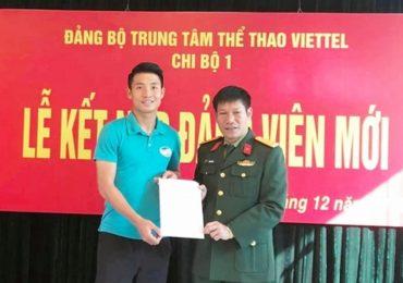 Bùi Tiến Dũng được kết nạp Đảng trước khi dự Asian Cup 2019