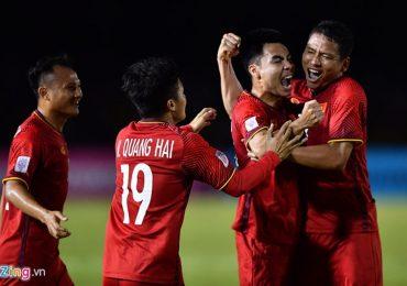 Anh Đức thừa nhận bàn thắng mở tỷ số có phần may mắn