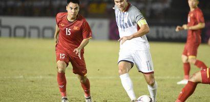 Đội trưởng Philippines: 'Bàn thắng vào lưới Việt Nam giúp chúng tôi tự tin'