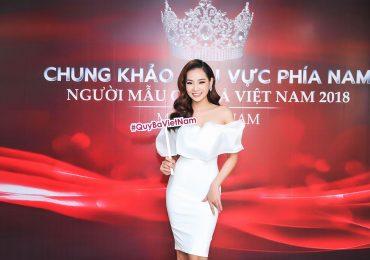 MC Ngọc Trúc thử sức với cuộc thi 'Người mẫu Quý bà 2018'