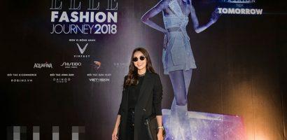 Tăng Thanh Hà xuất hiện với vai trò nhà thiết kế thời trang