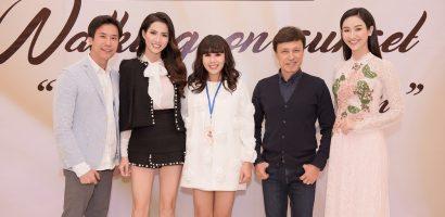 Hà Thu – Phan Thị Mơ cùng làm vedette trong show thời trang của NTK Hằng Nguyễn