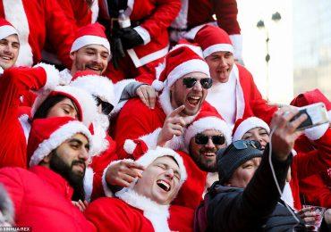 New York đau đầu với lễ hội những ông già Noel 'nổi loạn', say bí tỉ