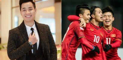 MC Nguyên Khang và dàn sao Việt hát cổ vũ Tuyển Việt Nam trước thềm chung kết AFF Cup 2018