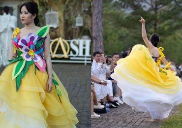 Sự thật về màn catwalk có 1-0-2 của Nam Em trong show của NTK Hằng Nguyễn