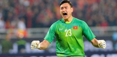 Đặng Văn Lâm khóc sau khi giúp tuyển Việt Nam vô địch AFF Cup 2018