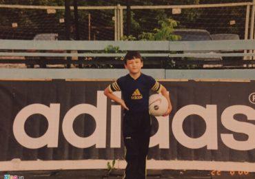 Bố Đặng Văn Lâm chia sẻ loạt ảnh thời thơ ấu ở Nga của con trai