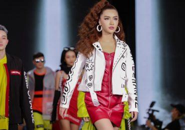 Fan thích thú ủng hộ khi thấy Bích Phương catwalk trên sàn diễn thời trang