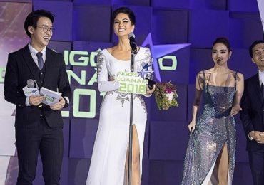 H'Hen Niê được vinh danh là 'Ngôi sao vì cộng đồng' của năm 2018