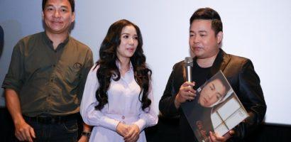 Quang Lê đến chúc mừng 'Sầu nữ bolero' Thúy Huyền ra mắt sản phẩm âm nhạc mới