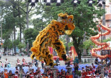Tưng từng khai mạc Liên hoan Lân – Sư – Rồng Tp.HCM lần 2 năm 2018
