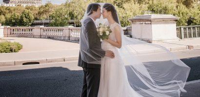 Ảnh cưới ở Pháp của Á hậu Thanh Tú và chú rể CEO