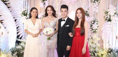 Dàn sao Việt đến chúc mừng đám cưới Ưng Hoàng Phúc và Kim Cương