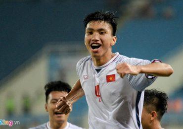 Đoàn Văn Hậu vào Top 4 tài năng trẻ AFF Cup 2018