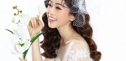 Á hậu Phương Nga hóa thành cô dâu mộng mơ trong bộ váy cưới