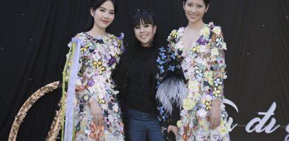 Chị em Nam Anh – Nam Em hóa nàng tiên hoa tại 'AMI Fashion show 2018'