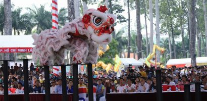 Nỗ lực quảng bá nghệ thuật múa Lân – Sư – Rồng đến bạn bè quốc tế