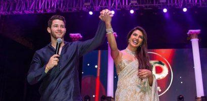 Nick Jonas và vợ Hoa hậu thế giới nhảy múa tưng bừng trong lễ cưới