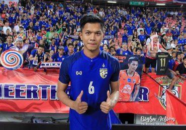 Trung vệ điển trai, cao 1,91 m lập công ở trận Thái Lan – Malaysia